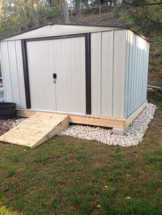 Diy Backyard Shed Plans . Diy Backyard Shed Plans . Shed Kit Brackets Backyard Storage Sheds, Backyard Sheds, Outdoor Sheds, Shed Storage, Small Storage, Garden Sheds, Outdoor Storage, Storage Ideas, Storage Units