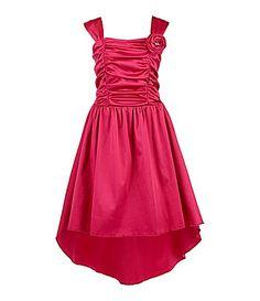 Ruby Rox 716 Shirred HiLow Dress #Dillards