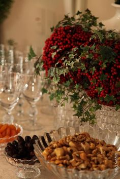 Christmas | Host how to get home, receive, decoration, parties, room decor, decorated tables, layette, our children