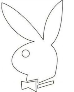 Playboy Bunny head template
