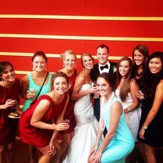 The beautiful bride & all of her KD ladies<3 #kappadelta #new2osu #goKD