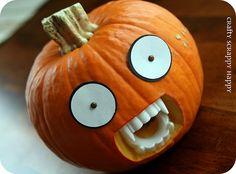 lol!  vampire pumpkin