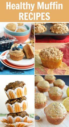 Healthy Muffin Recipes #healthy #recipe Via @fitfluential