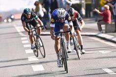 Tom Boonen attacking at Paris-Roubaix