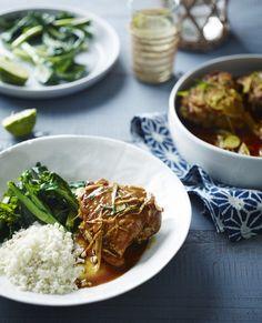 Burmese Chicken Curry with Cauliflower Rice