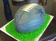 Dallas Cowboys Football Cake - Angle 2