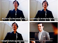 """I LOVED this scene, lol. """"I thought we had a special something."""" And Jim's expression. XD"""