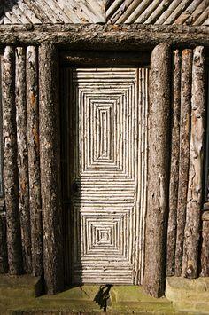 Log Door | Flickr - Photo Sharing!