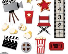 Digital Movie Clip Art Digital Movie Party Clipart Digital