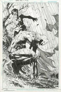 All Star Batman and Robin #9 p.19 (2008) by Jim Lee, inks by Scott Williams *