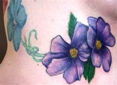 violet tattoos