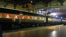 The Eastern & Oriental Express, a passenger train between Thailand, Malaysia and Singapore.