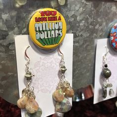 Saturday Market's Holiday Market Features Locally and Regionally Handcrafted Gifts, International Foods Made Fresh On Site, and Live Entertainment Every Weekend, mid-November through Christmas Eve at the Lane Events Center. Holiday Market, Stone Earrings, Stocking Stuffers, Pendant, Handmade, Gifts, Hand Made, Presents, Hang Tags