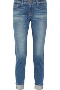 Frame Denim Le Garcon mid-rise slim boyfriend jeans NET-A-PORTER.COM