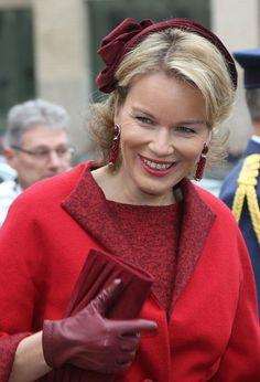 Queen Mathilde,November 15, 2012 | The Royal Hats Blog