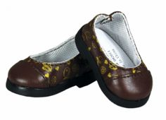 http://www.laurentdoll.com/18-inch-doll-clothing/doll-shoes/tqt-designer-flat-slip-on-for-18-doll-girl.html