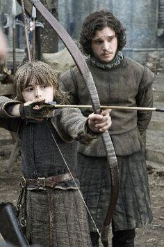 Jon Snow & Bran Stark