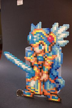 Perler Beads Lenneth CSW by kiskekokanut