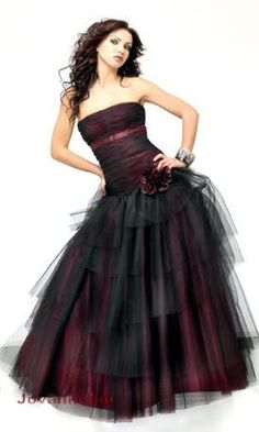 emo dresses   SodaHead.com - Vampire Prom! I need help picking a dress!!!