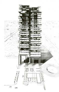 AD Classics: The Colonnade Condominiums / Paul Rudolph #section