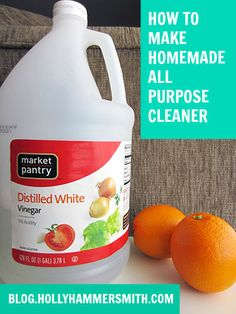 """Prior to making this cleaner I was using up some """"green"""" cleaner made by Clorox, but I knew it wasn't as green as something I would make myself. I've been moving toward using homemade products for cleaning and beauty as much as I can. This recipe is super simple and one bottle lasts a long …"""
