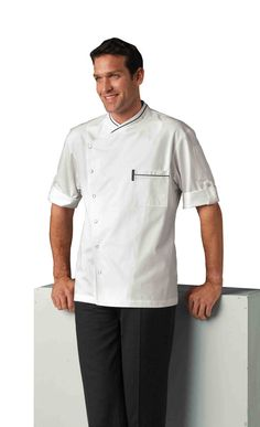 $69.95 - Chicago Chef Jacket with Honeycomb Weave by Bragard