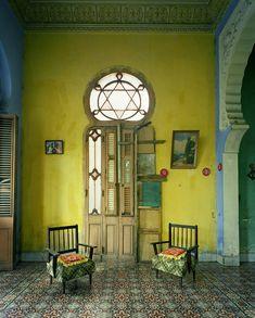Michael Eastman (American, b. 1947, St. Louis, MO, USA) - 1: Green Interior, Havana, 2002 2: Blue Arch, Havana, 2010 3:Deco Stairwell, Havana, 2010 4: Yellow Room, Havana, 2010 5: Blue Kitchen, Havana, 2010 6:167, Havana, 2010 7:Moorish Façade, Havana, 2010 8:107, Havana, 2010 9:Green Hallway, Havana, 2010 10:Red Couch, Havana, 2010 Photography