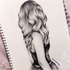 hair sketch/ drawing                                                                                                                                                                                 Mehr