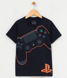 Shirt Print Design, Shirt Designs, Baby Boy Fashion, Kids Fashion, Video Game T Shirts, Gamer T Shirt, Dress Shirts For Women, Boys Shirts, Vintage Shirts