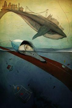 """veratulyakova: """" *""""evvel zamanı eze eze geldim benim döneceğim bir masal yok!"""" görsel:Erhan Cihangiroğlu / Sonsuz 2015 """""""