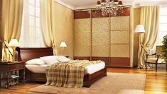 The KariGhars is the leading award winning Wardrobe Interior Designers in Bangalore. We provide the top and luxury wardrobe designs. Wardrobe Interior Design, Door Design Interior, Interior Design Images, Luxury Wardrobe, Large Bedroom, Sliding Doors, Classic Style, Bedroom Classic, 3d Rendering