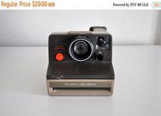 ON SALE Vintage Polaroid Super Clincher Land Camera