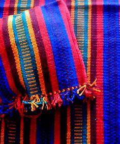 Colourful bedouin carpet