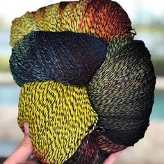 We are pleased to offer alternative colour ways for our Nightshade Sweater Kit. YARN DETAILS (Queen Size Skein):100% Superwash Superfine Merino2,000 yards/500ghand wash/air dry Pattern can be purchased on Ravelry by clicking here. If you would like your skein wound, please purchase our winding service by clicking here. If you'd like to KAL with us while knitting your sweater, please join here.