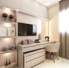 Bedroom Closet Design, Small Room Bedroom, Room Ideas Bedroom, Home Room Design, Home Office Design, Home Decor Bedroom, Cute Room Decor, Aesthetic Room Decor, House Rooms