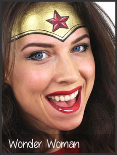 face painting by mimick I like this version of Wonder Woman.