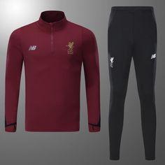 Liverpool Red-Black Training Suit Football Soccer Men Jacket Tracksuit Sport | Sporting Goods, Team Sports, Soccer | eBay! Football Soccer, Red Black, Liverpool, Wetsuit, Training, Suits, Sport, Swimwear, Jackets