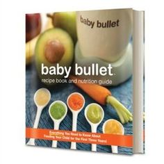 Recipe book for Baby Bullet recipes