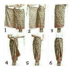 Tie a sarong Kebaya Muslim, Kebaya Hijab, Kebaya Brokat, Kebaya Lace, Kebaya Dress, Muslim Fashion, Hijab Fashion, Ethnic Fashion, Model Rok Kebaya