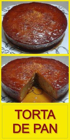 Easy Cake Recipes, Sweet Recipes, Dessert Recipes, Desserts, Sweet Cooking, Flan, Favorite Recipes, Beef, Breakfast