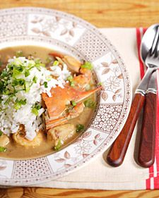 This recipe for delicious seafood gumbo is courtesy of Emeril Lagasse.