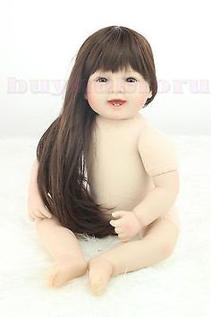 New Lifelike 22in. puzzle collection adorable barbie Reborn Baby Reborn Doll