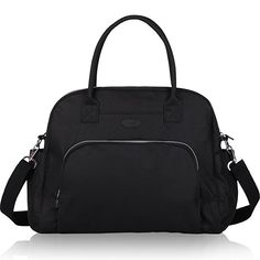Lily   Drew Carry On Weekender Overnight Travel Shoulder Bag for Inch  Laptop Computers for Women (Black) 1db6eb8f17910