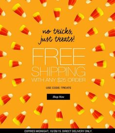 Get Avon free shipping on orders of $25 or more when you use code: TREAT at http://eseagren.avonrepresentative.com. Exp: midnight 10/28/2015 #avon #free #freeshipping #coupon