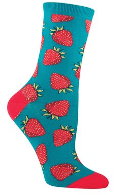 Take a bite out of these socks like you would at a picnic on a hot summer day… wait, maybe we take that back. While not as fragrant or tasty as your local farmer's market berries, they are as colorful