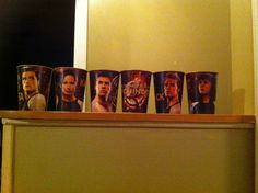 The Hunger Games Catching Fire cup collection