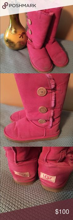 💕 Pink Uggs Size 8 Pink Uggs Size 8. Make an offer!!! UGG Shoes