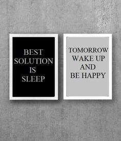 Best solution is sleep