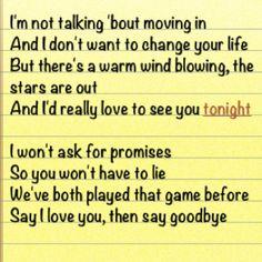 Love to see you lyrics