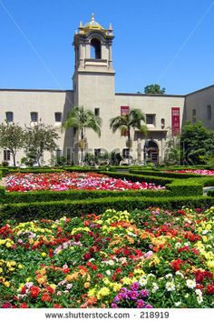 Alcazar Gardens, Balboa Park, San Diego. Where I spent bring your daughter to work days with my mom!